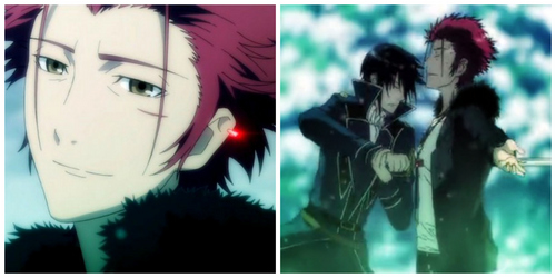 SPOILER ALERT FOR K PROJECT!!!!!!!!!!!!!!!!!!! When Mikoto overuses his powers and Reisi has to prevent the destruction of himself and the town によって killing him. R.I.P. Mikoto :,( (and that smile! #nobloodnobonenoash!)