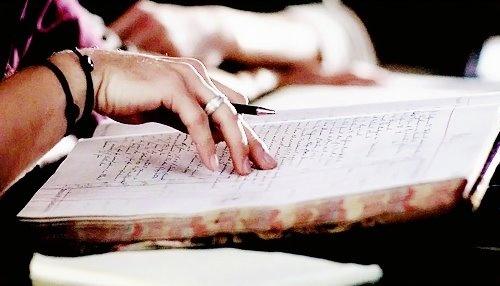 Jensen's hand