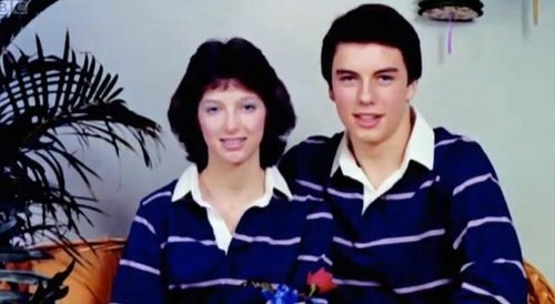 an old pic of a young John Barrowman:)