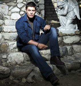 Jensen wearing shoes