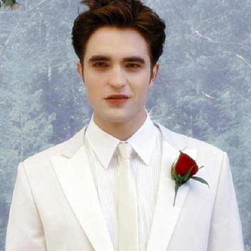 my white hot gorgeous groom<3