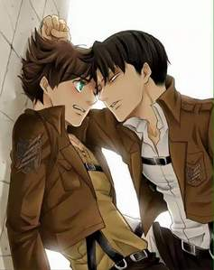Ereri for sure,because they made so many canons in the Anime oder manga, they're so cute ><