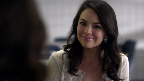 Mona Vanderwaal from Pretty little liars, nerd turned bully and stalker. I kind of liked her in the 1st season but then she just gets worse. Other than finding her incredibly annoying, I just think that she is a total b*tch. I don't like her at all and feel nothing for her.