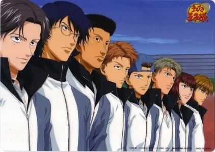 Prince of Tennis. And I will 登録する the Hyoutei team(not the main school)! :D
