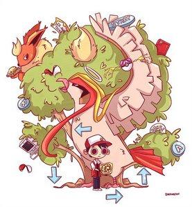 I would choose pokemon I mean It's POKEMON