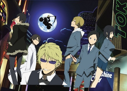 Hmm... well for a newbie, I'd recommend: Death Note noragami Psycho-Pass Durarara (the one in the pic) Though there's plenty of good anime out there! ;)