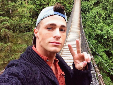 Colton's selfie:)