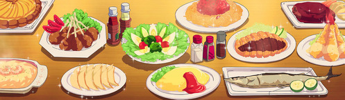 """I can't help but say """"itadakimasu!"""" to myself before eating a meal~^^"""