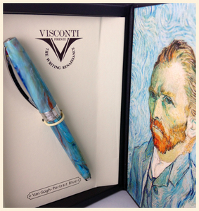 I mean, I'm interested in murder/serial killers, but I certainly don't want to be ou own a serial killer. I also [i]reallyreallyreally[/i] am interested in fontaine pens, right? Like that's a thing now. But specifically, there's a pen that I want that's rather expensive- the Visconti van Gogh. Which is like 300 bucks.... so I'll probably never own it. But I'm really intrigued par it.