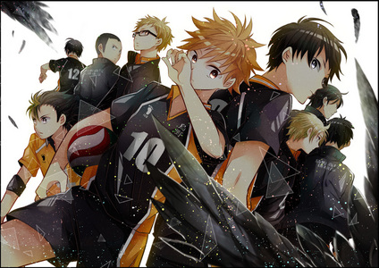 Haikyuu!! Btw pic is not mine the artist is really good so all rights go to him/her