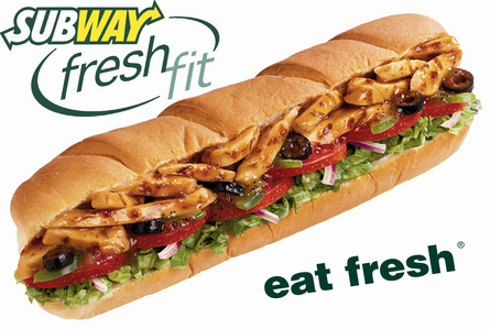 chicken sub an a kouk at subway is my fav