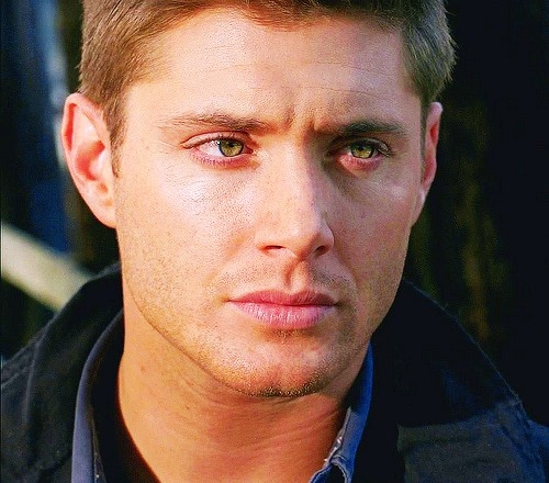 Jensen with some sun shining on his face