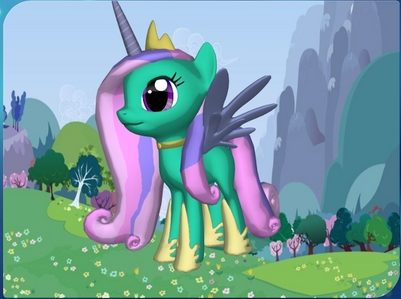 My pony would be an alicorn named Princess Peppermint Swirl of the New Süßigkeiten Empire. My cutie mark would be a round peppermint swirl. My mane would be a light rosa with the middle light purple. I am the pony in the picture. My wings and horn are teal, too, though. I would be the princess of the New Süßigkeiten Empire, so I would work in the palace. Name: Princess Peppermint Swirl Type: Alicorn Magic: teal, Mehr blueish than her body color Cutie mark: A round peppermint swirl Mane: Light rosa and light purple Works: As princess of the New Süßigkeiten Empire BFF: My other pony named cupcake Frosting Friends: My other ponies named Midnight Rain, Morning Rain, and Raining Sparkle Perso: kind, caring, sorta shy