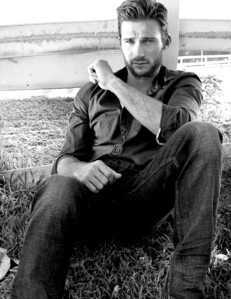 my handsome hot cowboy in b&w<3