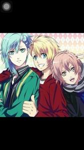 My 上, ページのトップへ three お気に入り characters from uta no prince sama their adorable 😍😍 syo, Ai, and mikado