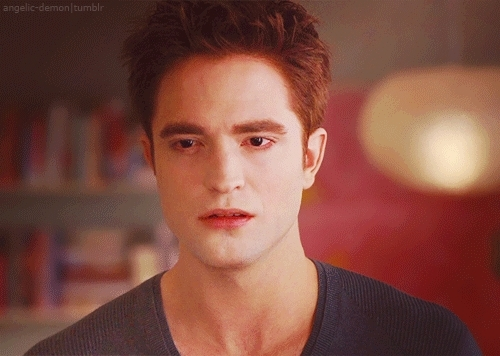 my babe in a scene from BD part 1 looking very worried about his wife,Bella<3