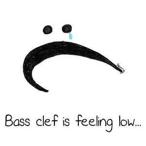 I read that in bass, besi clef at first for some reason and I was really confused. XD