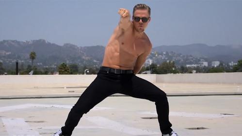 Derek Hough dancing the nae nae:)