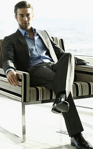 Chace on a chair<3