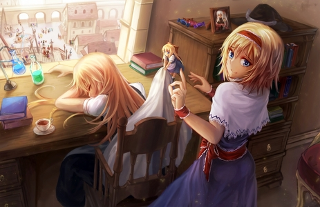 I am eating ice cream. French vanilla to be exact. I am doing that right now. I upendo Touhou and it's one of the many things I am in too.