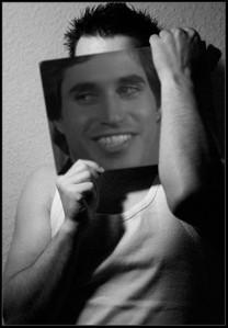 Joey in B&W :D