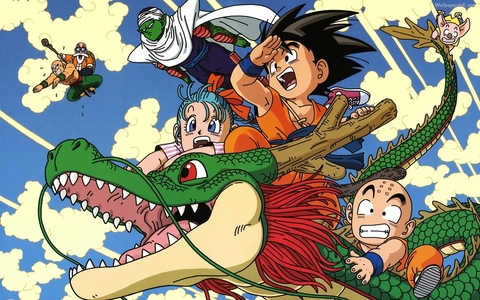 Dragon Ball No I'm not talking about Dragon Ball Z, I'm talking about this and the Zeigen was great!