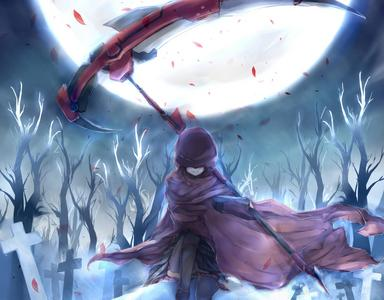 Nothing thêm Than The Harbinger Of Death.The Scythe !!!!