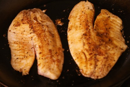 Tilapia! Also I'm listening to the weekend. So guess.