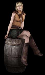 Ashley Graham from Resident Evil 4.