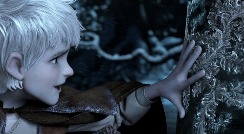 Jack Frost from Rise of the Guardians.