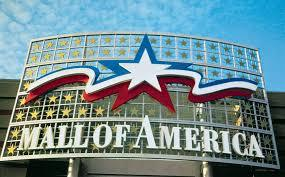 I went to the mall of america.
