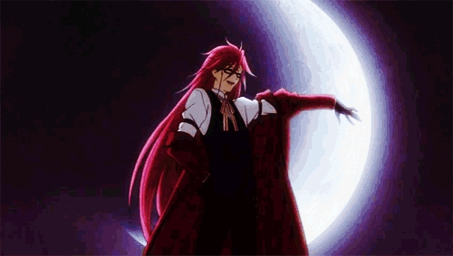 The butler of DEATH! The 皇后乐队 of all reapers, Grell Sutcliff~