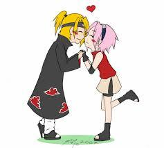 If Sasuke and Naruto did not exist, then there wouldn't BE a Naruto manga/anime. On the contrary, if Sasuke and Naruto DID exist, but Sakura just wasn't interested in them in any way, then it woul've been Lee. I think Deidara and Sakura would make a great couple, though.