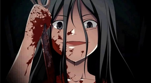 Of course it's Sachiko from Corpse Party... Creepy~