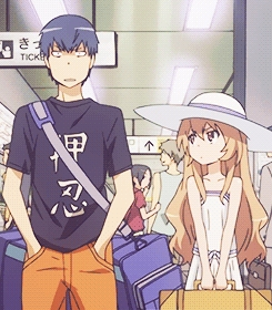 """Try Toradora! It came out in like, 2008 I think... but the اندازی حرکت is great, and it has a """"new anime"""" feel. I think you'd like it!"""