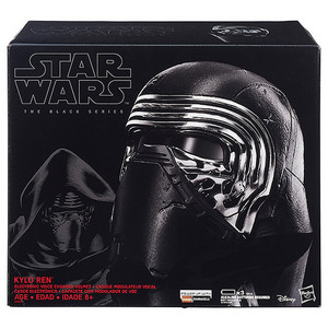 Well I got this Kylo Ren mask...I'm gonna dress up as him for Halloween...Spoiler alert...xP