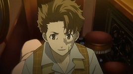 I see a bit of myself in Jacuzzi Splot from Baccano! We both don't do very well under stress of pressure but, when over come we do our best and then some. I'm probably a bit meer timid then he is but, I think it's about the same. We're also not very confident but, gegeven a bit of a boost we both pull through with flying colours! He may of not be unsure of himself like I am but, yeah. I'd say we're pretty similar. It's... kind of scary actually. He's probably not as similar to me as I'm thinking but, from what I've seen there are a few similarities.