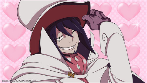 My ideal husband...? Heh...probably Mephisto-kun~! ♥