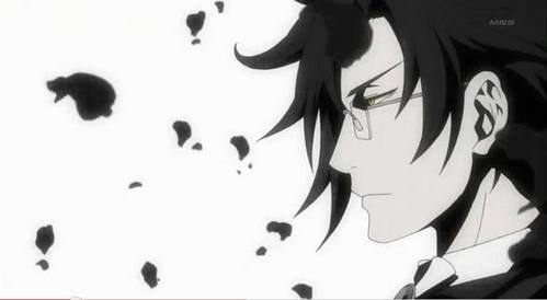 "I really pag-ibig Claude Faustus from Black Butler. I pag-ibig villians and I'm a sucker for dark hair and glasses. Everyone says he's evil and cold hearted, but that's cause HE""S A DEMON. He is supposed to be that way."
