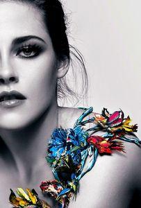 Kristen Stewart I tình yêu the editing and hoa look great shes cool