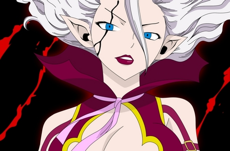Mira's Satan Soul from the anime Fairy Tail (her full name is Mirajane Strauss) one of my fave characters