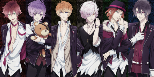 Diabolik Lovers. 6 brothers who are all vampires.