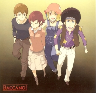 Baccano! was recommended to me a few years 以前 由 my older brother who happened to watch it before I did. About a few months later it was recommended to me again rather enthusiastically 由 an old friend of mine who shouted at me to go watch it. So, I went and bought it. Best. Decision. Ever.