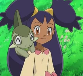 Hmm,here's Iris from Pokemon!