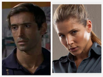 Daniel from Mar Salgado and Elena from Fast and Furious.