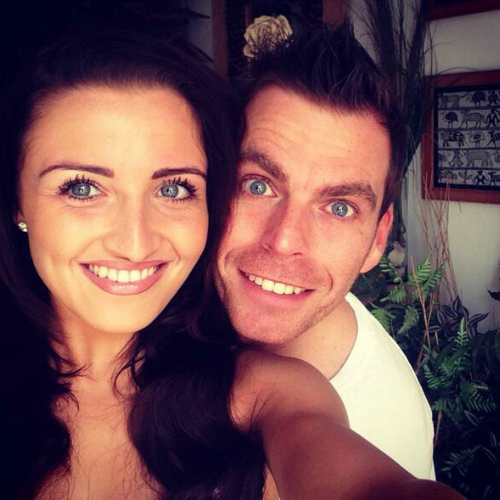Johnny Mac and his fiancee, Steph <3