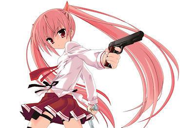 Aria Kanzaki from hidan no aria