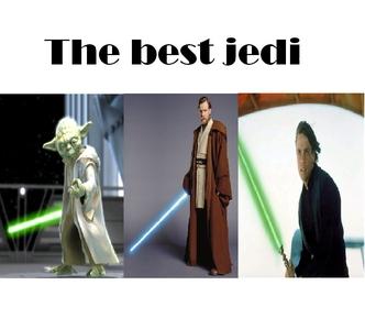 Obiwan kenobi, Yoda, Luke skywalker