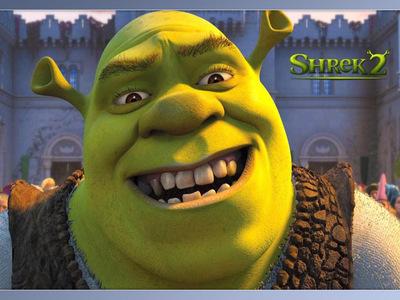 Shrek returns.