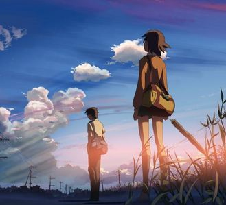 Since I organise my folders so much: Pictures>Anime>5 Centimetres per Second>first image